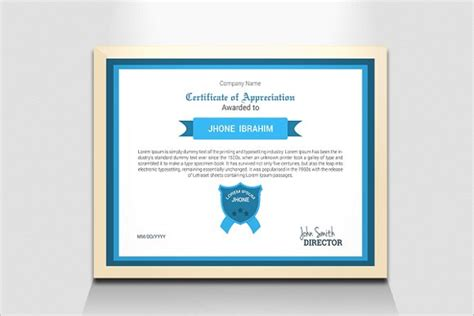 business certificate templates free premium download