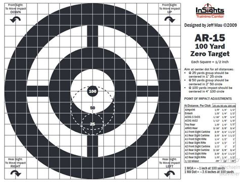 printable ar 15 zeroing targets 339 best images about targets on pinterest pistols