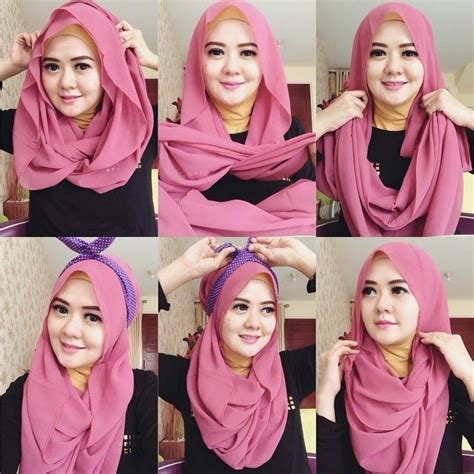 tutorial hijab syar i casual gorgeous hijab tutorial for casual styles scarf