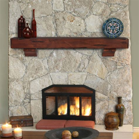 L Mantle by Pearl Mantels Shenandoah Fireplace Mantel Shelf Ebay