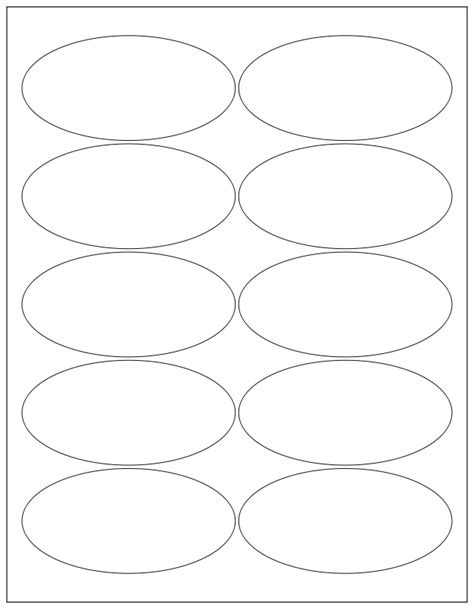 oval template printable vector free clipart 1001freedownloads com