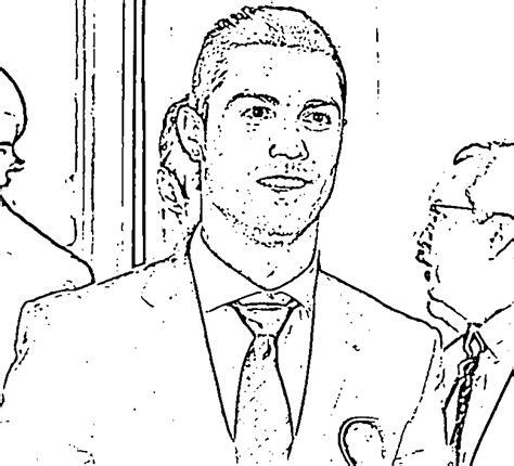 dessin de foot de ronaldo coloriage cristiano ronaldo 9 sport c 233 l 233 brit 233 s