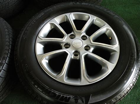 18 Jeep Wheels 18 Quot 2014 Factory Jeep Grand Limited Wheels Oem