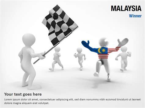 malaysia winner malaysia winner powerpoint map slides malaysia winner