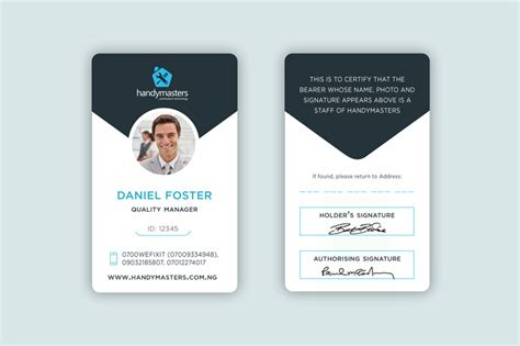Business Id Card entry 28 by giuliadesign for business card and id card