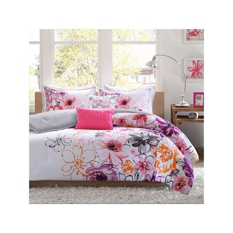 pink comforter sets king intelligent design olivia 5 piece comforter set king