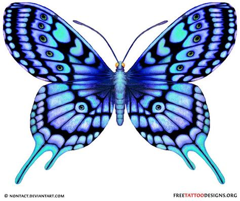 34 best pink and purple black butterfly tattoo images on