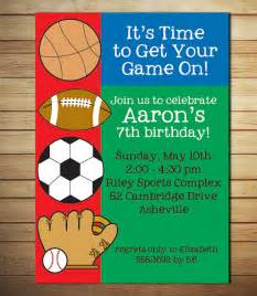 free printable sports birthday invitations drevio