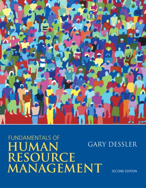 Human Resource Management For Mba Students 2nd Edition Pdf by Dessler Fundamentals Of Human Resource Management Pearson