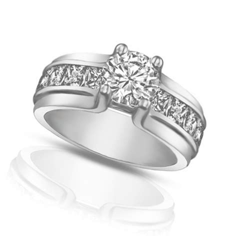 1 50 ct cut engagement ring with