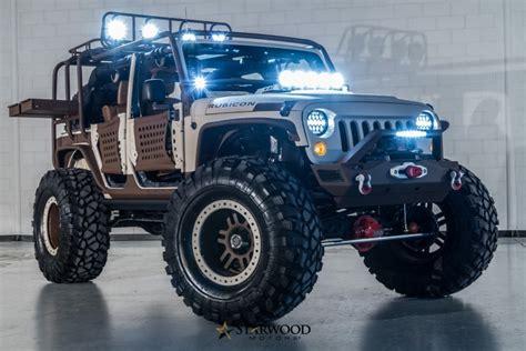 Sema Jeep Wrangler This Starwood Motors Sema Jeep Is King Of The Mountain