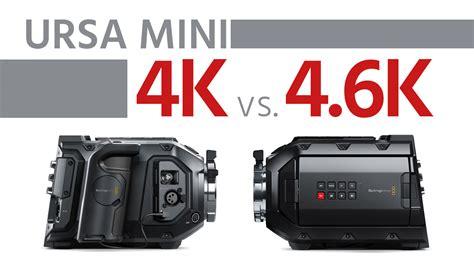 blackmagic ursa 4k blackmagic ursa mini 4k vs 4 6k how is the 4 6k