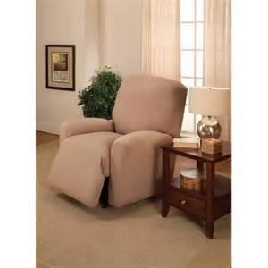 black recliner slipcover jersey stretch large recliner slipcover walmart