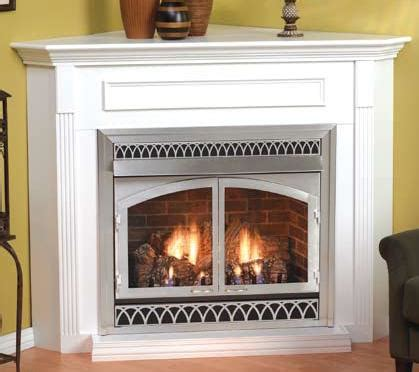 Corner Fireplace White by Corner Fireplaces Ventless Gas Fireplace Corner White
