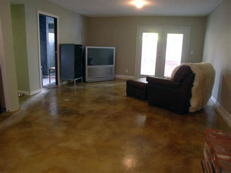 Basement Cement Floor Ideas Basement Floors Concreteideas