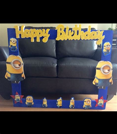 minions photo booth layout 10 best minions party images on pinterest printable
