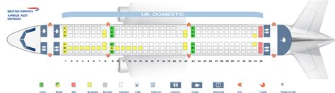 Row Home Floor Plan by Seat Map Airbus A321 200 British Airways Best Seats In Plane