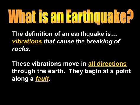 earthquake reason standard earthquakes ppt video online download