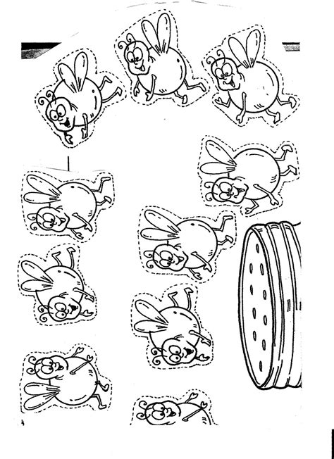free bug jar coloring pages