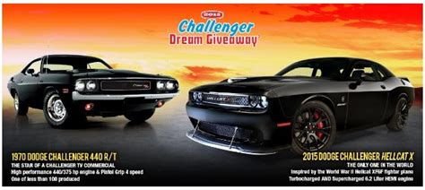 Dream Giveaway Challenger - u s air force veteran from folsom california wins 2015 challenger dream giveaway