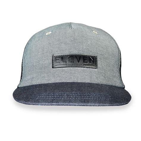 Trucker Eleven 5 eleven workwear leather embossed trucker cap