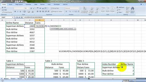 learn vlookup youtube vlookup 3 data tables at once hindi youtube