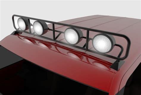 Light Rack For Truck by Roof Truck Light Rack 3d Model