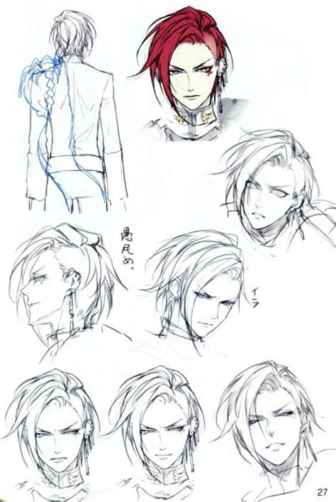 guy hairstyles anime 1752 best illustration inspirations and drawing tutorials