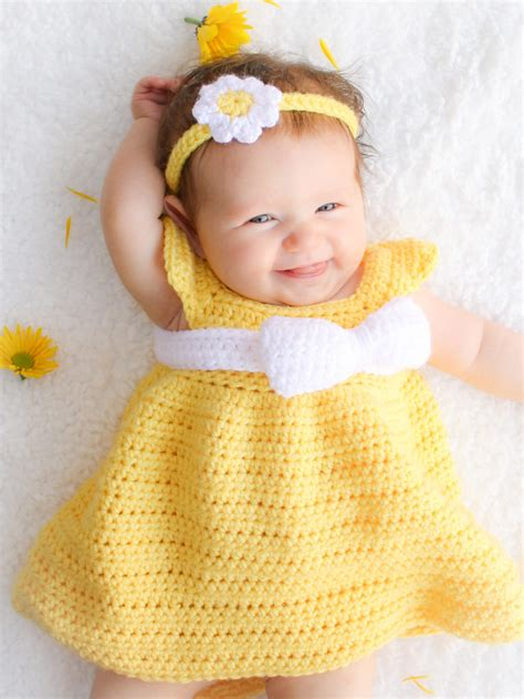 Simple Dress Pattern For Baby Girl