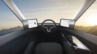 Tesla S Interior Images Tesla Truck An Look Inside The New Electric Semi Fortune