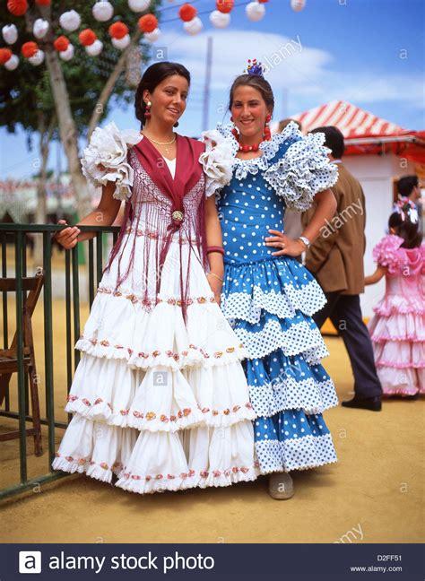 Dress Sevilla in flamenco dresses at feria de abril de
