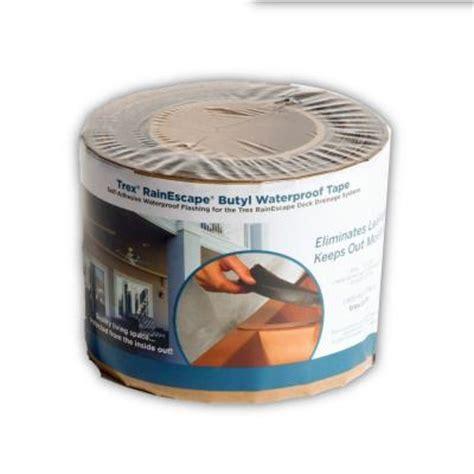 trex rainescape rainescape deck drainage system 4 in x 50