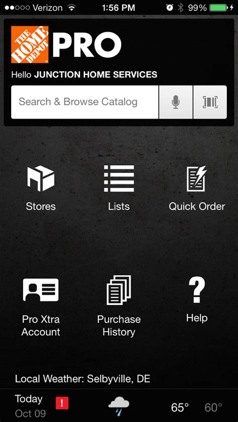 the home depot pro app review