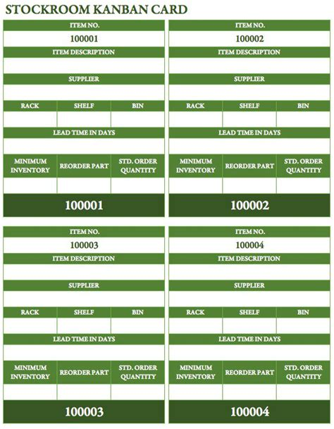 Free Kanban Card Templates Smartsheet Kanban Card Template