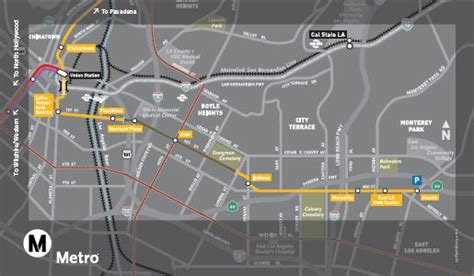 metro gold line map east los angeles goes for the gold line light rail now