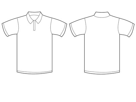 polo design template polo shirt vector free clipart best