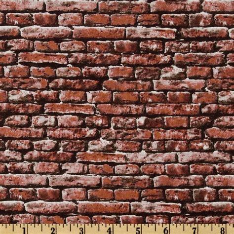 brick wall pattern fabric object moved