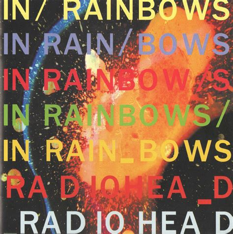 Radiohead In Rainbows by Radiohead In Rainbows Cd Album At Discogs