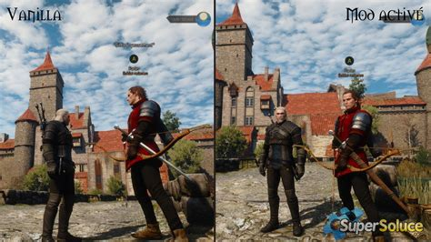 The Mods the witcher 3 top des mods compatibles 1 22 aide