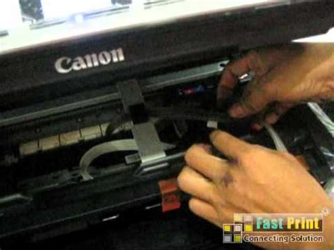 Infus Canon 4 Warna 1 tutorial memasang infus modifikasi printer canon mg5370