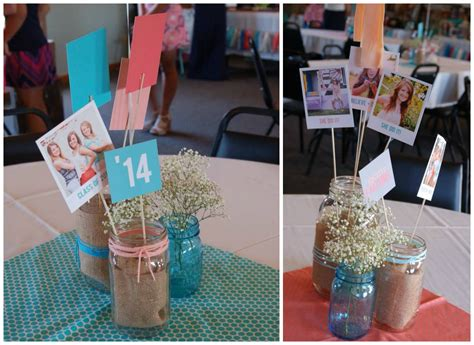 graduation party table centerpieces ideas party themes