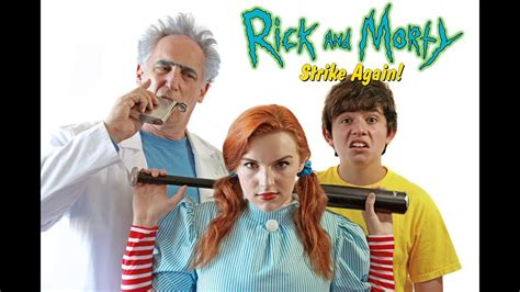 biography of film fan rick and morty strike again the fan film youtube