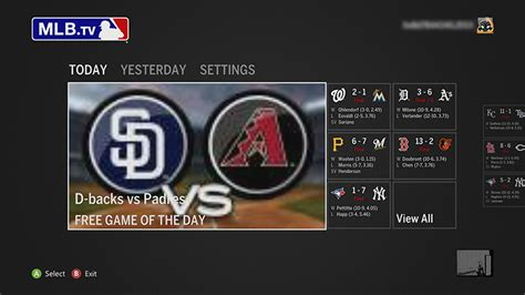 mlb tv apk mlb tv app on xbox 360 xbox 360 apps set up mlb tv on xbox