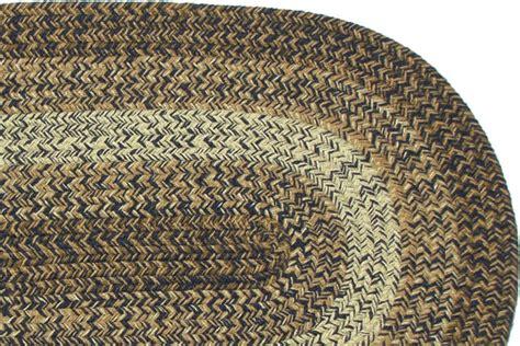 navy braided rug