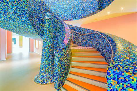 Alessandro Mendini Designs by I Colorati Interni Museo Groninger Disegnati Da