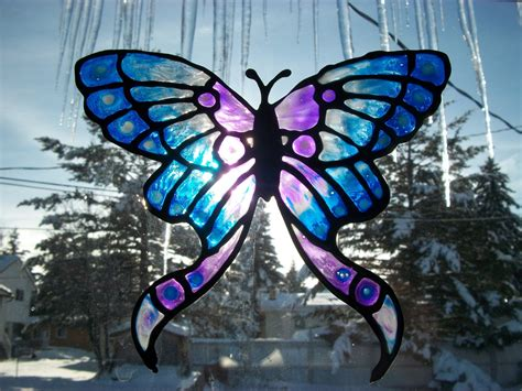 stained glass butterfly l butterfly designs for glass painting