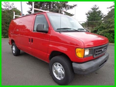 how cars work for dummies 2006 ford e 350 super duty engine control purchase used 2006 ford e 250 cargo van v 8 auto clean carfax one owner no reserve auction in