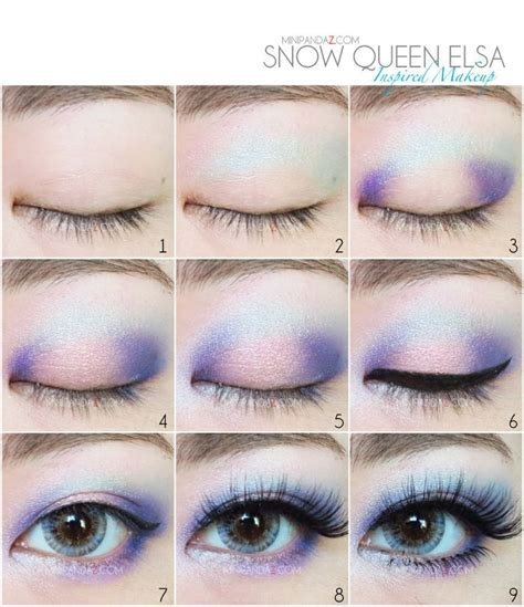 queen elsa makeup tutorial step by step elsa makeup google search the canvas