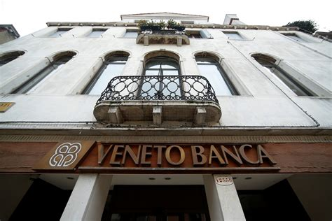 popolare di vicenza banking italy agrees 5 2bn bailout plan for struggling veneto banks