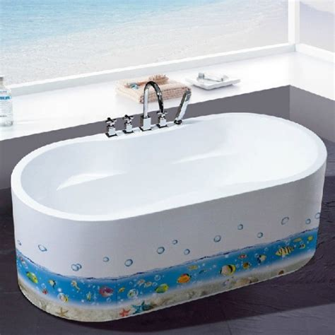Bathtub Decals by Bathroom Bathtub Kitchen Decals Sea World Wall